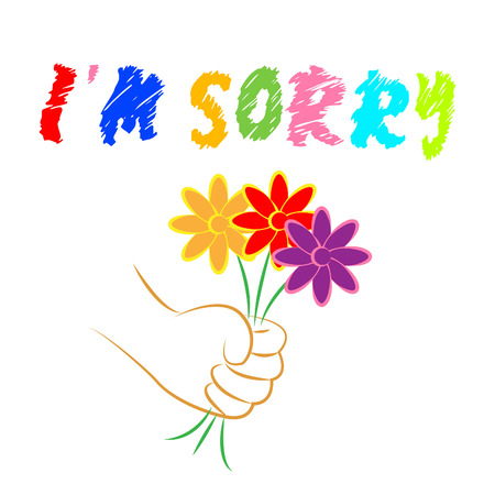 apology: Im Sorry Flowers Representing Floral Forgiveness And Apology