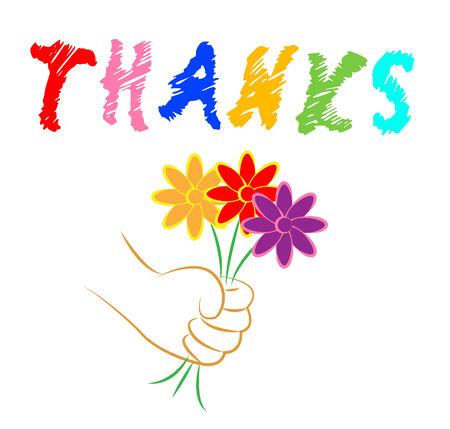 agradecimiento: Gracias Flores Significado Usted agradecimiento y Bloom