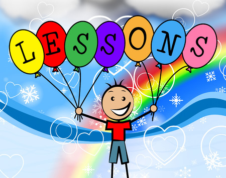 learned: Lessons Balloons Showing Childhood Kids And Develop
