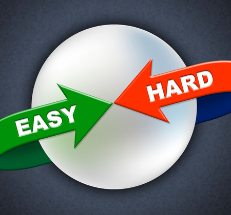Easy Hard Arrows Meaning Tight Spot And Hurdle