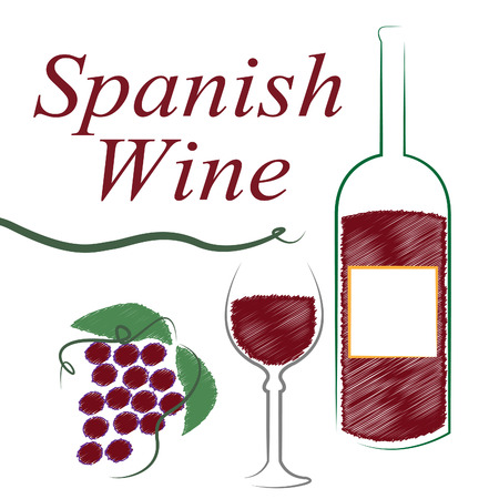 intoxicating: Spanish Wine Showing Intoxicating Drink And Winetasting Stock Photo