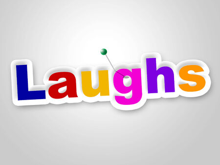 chuckle: Laughs Sign Meaning Laughing Witty And Laughter