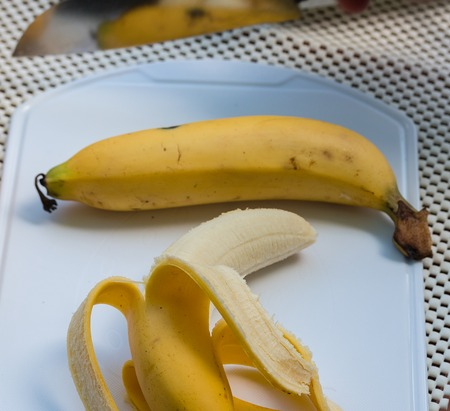 banana skin: Peeled Banana Meaning Skin Banaanas And Tropical