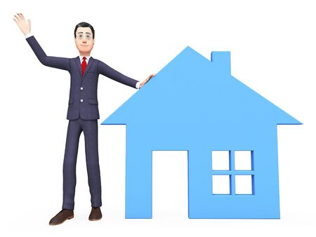 realtor: Real Estate Realtor Meaning On The Market And For Sale