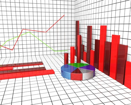 statistical: Graph Report Showing Statistical Information And Statistics