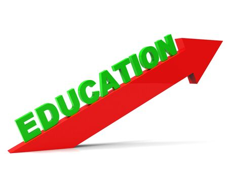 learned: Increase Education Meaning Studying Learned And Progress