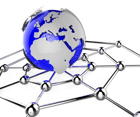 globalisation: Worldwide Network Showing Globalisation Pc And Globalization