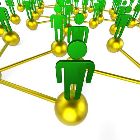 red de personas: Gente Red Significado Comunicaciones Globales y que charlan