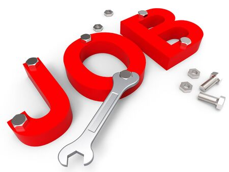 employ: Job Word Representing Employ Me And Hiring