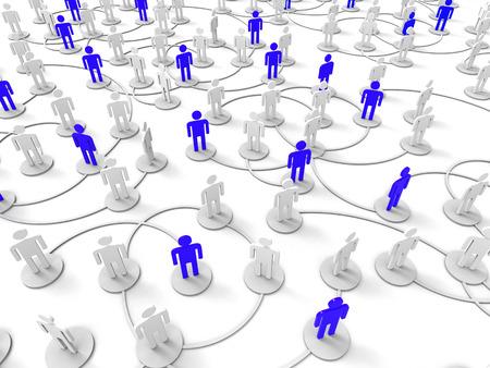 red de personas: Gente Red Mostrando Internet Pc Y Juntos