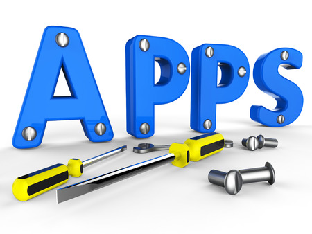 shareware: Apps Software Indicating Programs Programming And Softwares