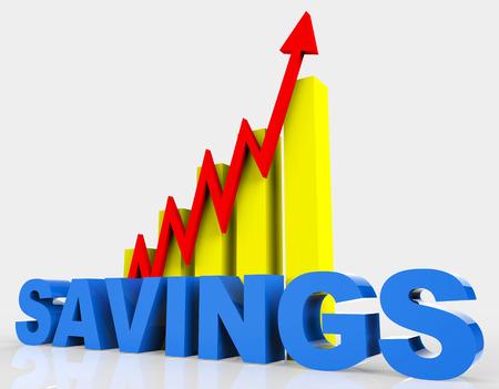 capital gains: Increase Savings Indicating Financial Report And Raise