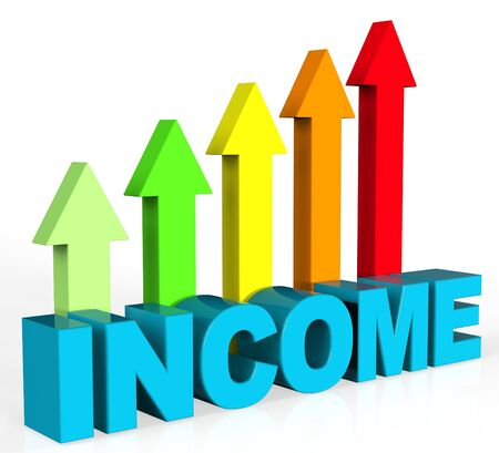 earns: Increase Income Meaning Job Success And Advance