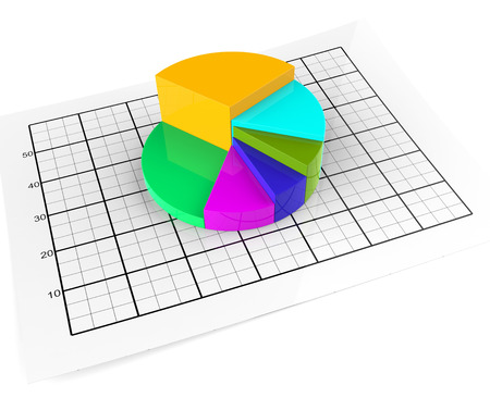 Pie Chart Meaning Business Graph And Statistic Stock Photo Picture