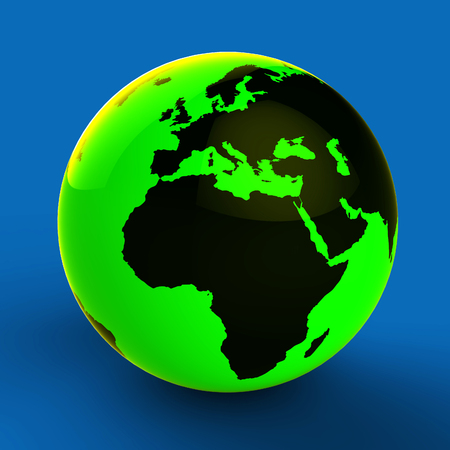 nation: Europe Africa Globe Meaning Global Country And Nation