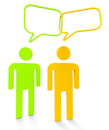 personas comunicandose: Gente Comunicar Representando Personas Debate y comunicar
