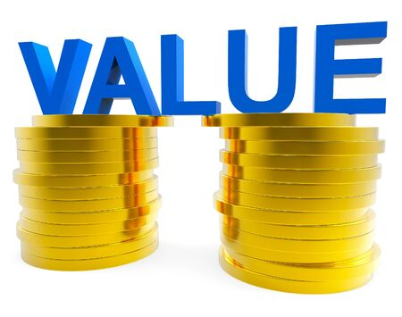 worth: Good Value Indicating Worth Important And Revenue