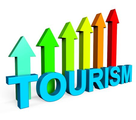destinations: Tourism Increasing Meaning Business Graph And Destinations