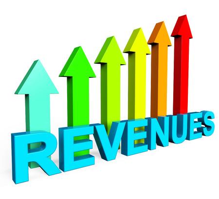 Revenues Increasing Representing Financial Report And Profits