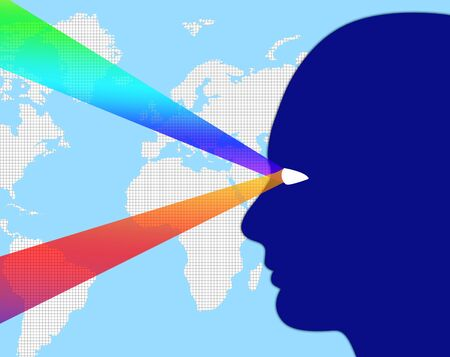 observation: Worldwide Observation Meaning Surveillance Global And Globalize