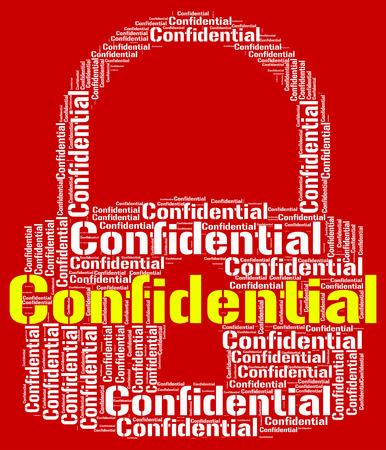 wordcloud: Confidential Lock wordcloud