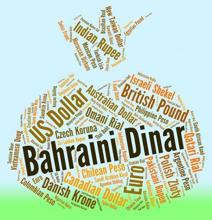 dinar: Bahraini Dinar wordcloud