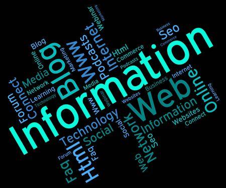 inform information: Information Word wordcloud
