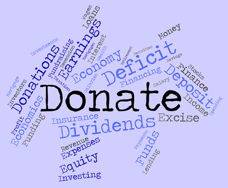 contributes: Donate Word wordcloud
