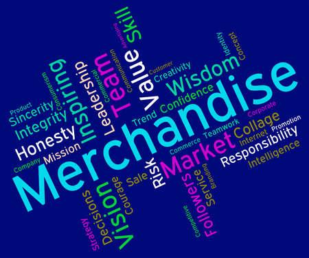 wordcloud: Merchantise Words wordcloud