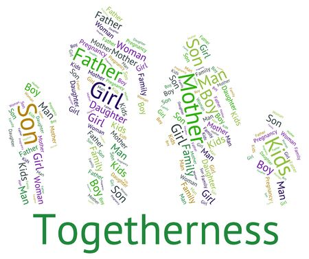 close knit: Family Togetherness wordcloud