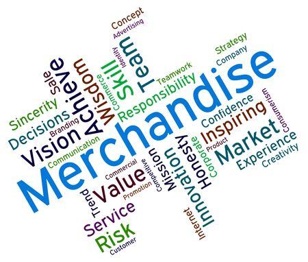 vend: Merchantise Words wordcloud