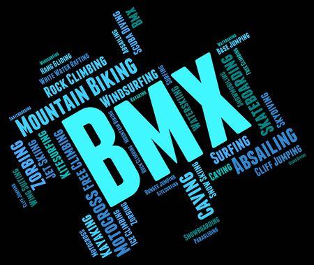 wordcloud: Bmx Bike Words wordcloud