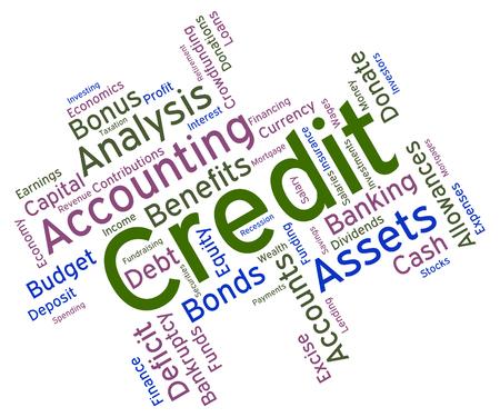 Credit Word wordcloud