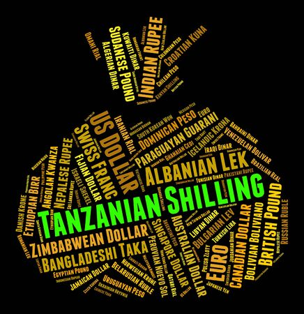 shilling: Tanzanian Shilling wordcloud