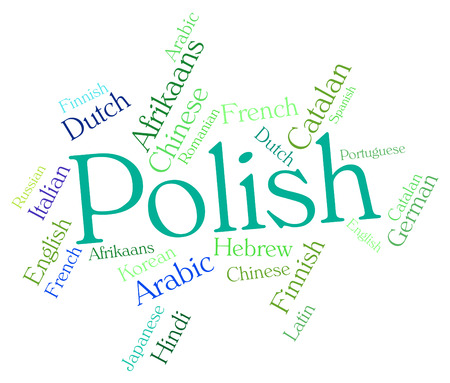 dialect: Polish Language wordcloud