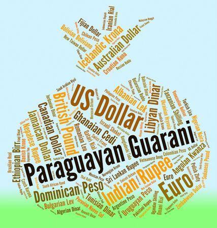 paraguayan: Paraguayan Guarani wordcloud