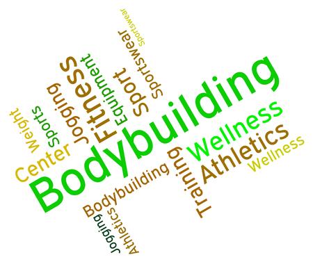 wordcloud: Bodybuilding Word wordcloud