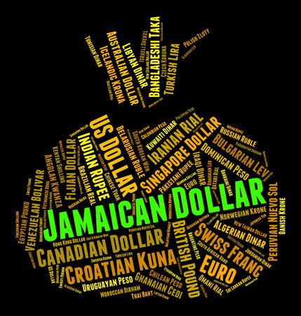broker: Jamaican Dollar Showing Exchange Rate And Broker