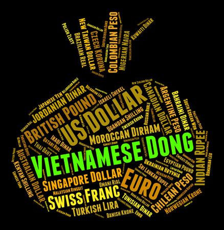 dong: Vietnamese Dong wordcloud