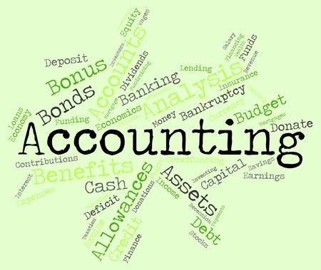 balances: Accounting Words wordcloud