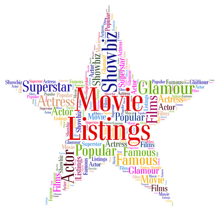 catalogues: Movie Listings wordcloud