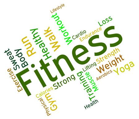 wordcloud: Fitness Words wordcloud