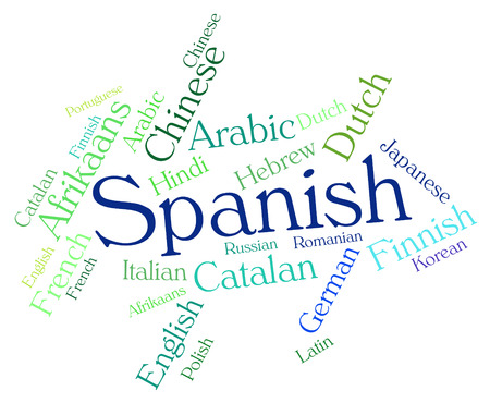 spanish language: Spanish Language wordcloud
