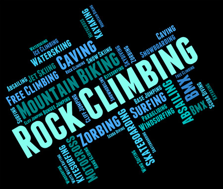 rockclimbing: Rock Climbing wordcloud