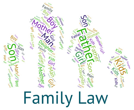 Family Law wordcloud