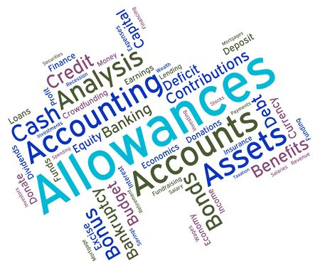 perks: Allowances Word wordcloud