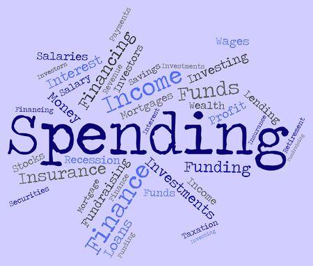 spending: Spending Word wordcloud