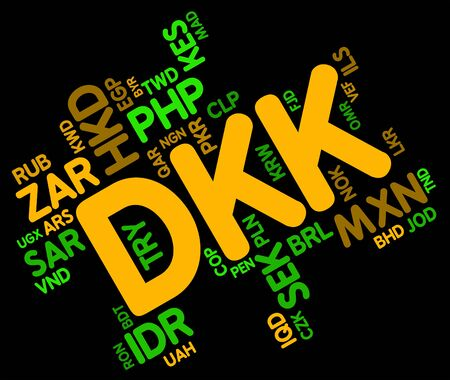wordcloud: Dkk Currency wordcloud