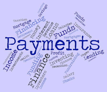 payable: Payments Word wordcloud