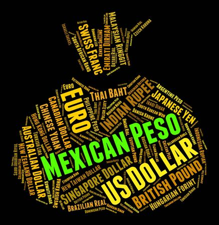 peso: Mexican Peso wordcloud